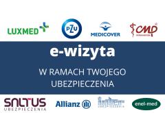 E-WIZYTA W RAMACH UBEZPIECZENIA