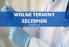 Wolne terminy na szczepienia